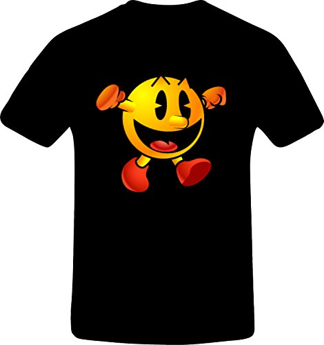 pacman-thums-up-custom-tshirt-3xl-black