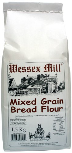 Wessex Mill Flour Mixed Grain Bread Flour (Pack of 5)