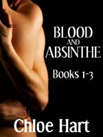 Blood and Absinthe: Books 1 - 3 (paranormal romance / vampire romance)