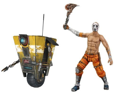 Neca Borderlands 7 Inch Action Figures Series 1 Set of 2