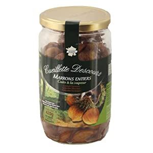 Ardeche Roasted Chestnuts, 14.8-Ounce Jars (Pack of 6)