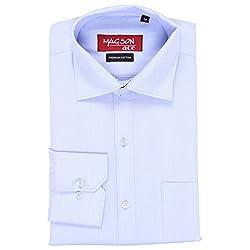Magson Ace Men's Formal Shirt 1968096031_Blue_38