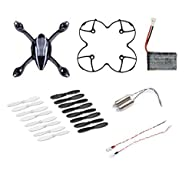 AFUNTA for Hubsan X4 H107L Quadcopter Spare Parts Crash Pack (One Body Shell + One Protection Cover…