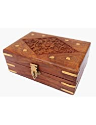 48craft Bovary Sheesham wood Jewellery box