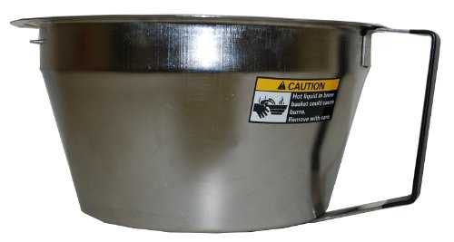 Grindmaster-Cecilware ABB2.0SS Gourmet Stainless Steel Brew Basket