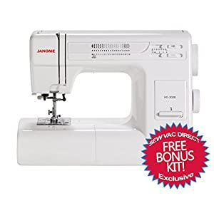 Janome hd3000 heavy duty mechanical sewing for Janome memory craft 3000