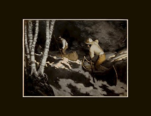 indians-poling-up-a-rapid-arthur-heming-circa-1923-archival-giclee-print
