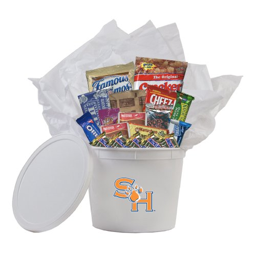 Shsu College Care Package Survival Kit 'Sh Paw Official Logo' back-340213