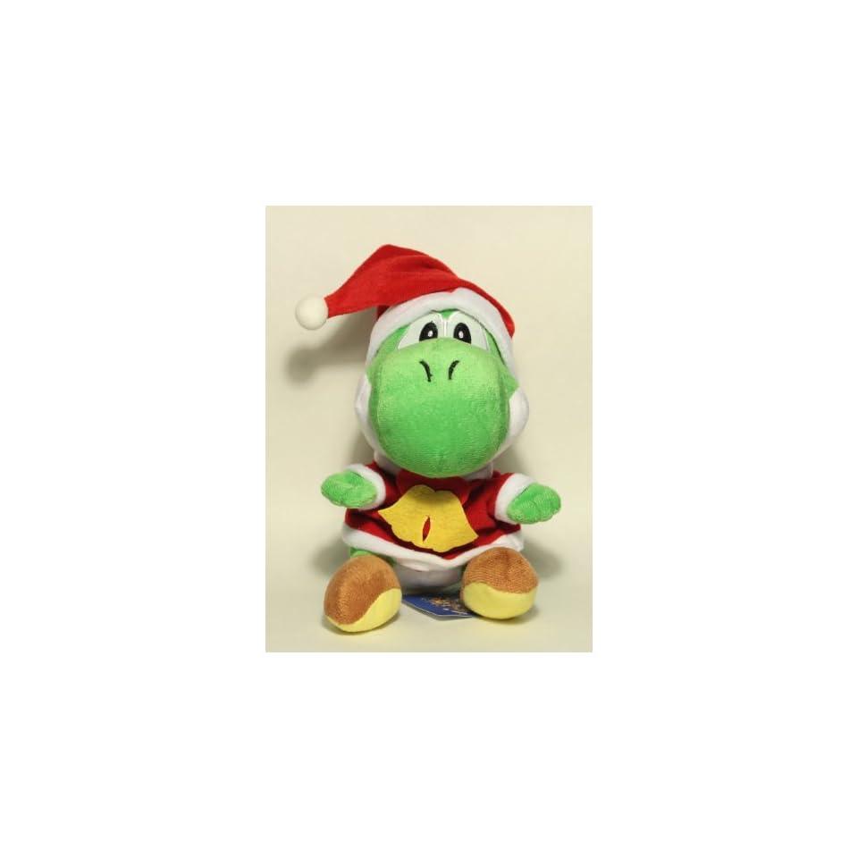 Super Mario Brother 8 Green Yoshi Christmas Plush