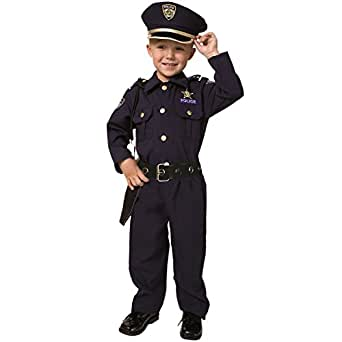 Award Winning Deluxe Police Dress up Amercia Costume