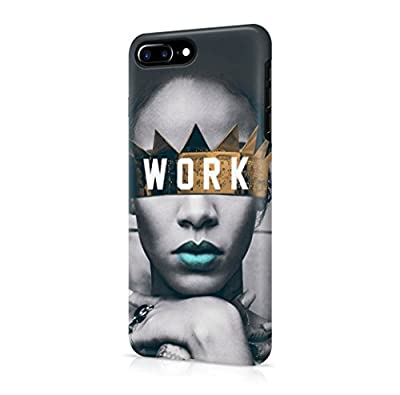 Rihanna Work iPhone 7 Plus Hard Plastic Phone Case Cover