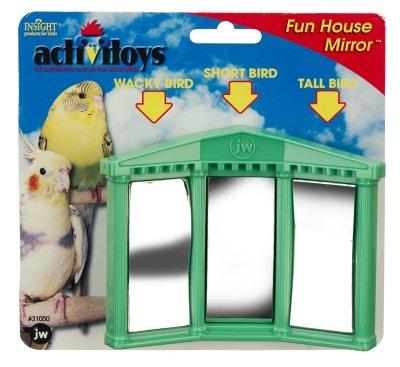 Cheap Brand New, JW PET COMPANY, INC – BIRD ACTIVITOY FUN HOUSE MIRROR (BIRD PRODUCTS – BIRD – TOYS: VARIOUS) (MSSJW31050-LT|1)