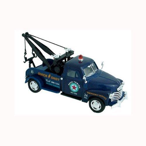 Chevrolet 3100 Wrecker 1953 OffRoad Die-Cast Model - Blue - 1