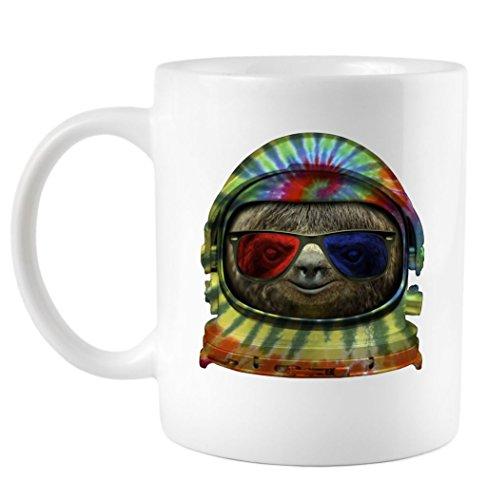Coffee Mug: Sloth Astronaut 3D Glasses CFMTP2235617