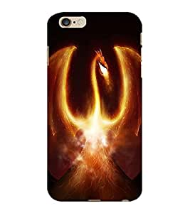 ColourCraft Fire Breathing dragon Design Back Case Cover for APPLE IPHONE 6 PLUS