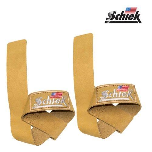 シーク(Schiek) レザーリフティングストラップ 05-00801