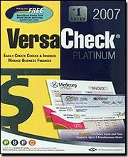 G7 PRODUCTIVITY Versa Check Platinum 2007