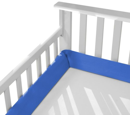 Inspired Ideas Baby Cozywedge Crib Bumper In Royal front-1041152