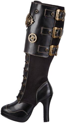 Pleaser Women's Crypto-302 Knee-High Boot 6