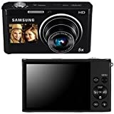 Samsung DV300F Dual View Smart Camera - Black (EC-DV300FBPBUS) (Discontinued by Manufacturer)