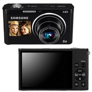 Samsung DV300F Dual View Smart Camera - Black (EC-DV300FBPBUS)