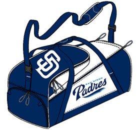 San Diego Padres Duffel Bag - Navy Alpine Style by Caseys
