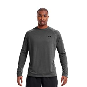 Under Armour Mens UA Tech™ Long Sleeve T-Shirt by Under Armour