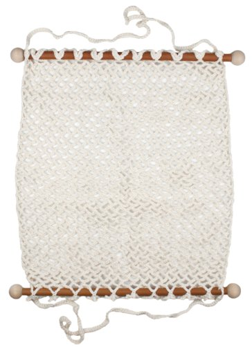 "Camden Rose Crocheted Doll Hammock For Dolls 11-18"" front-633917"
