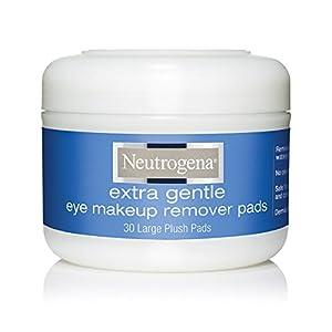 Amazon.com : Neutrogena Eye Makeup Remover Pads, 30 Count