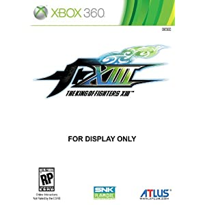 The King of Fighters XIII Video Game for Xbox 360