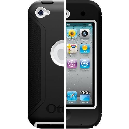 Otterbox Defender Series Case for iPod touch 4th Gen (Black Plastic/Black Silicone)