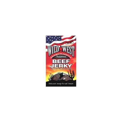 Wild West Gourmet Beef Jerk Hot Peppered 100g