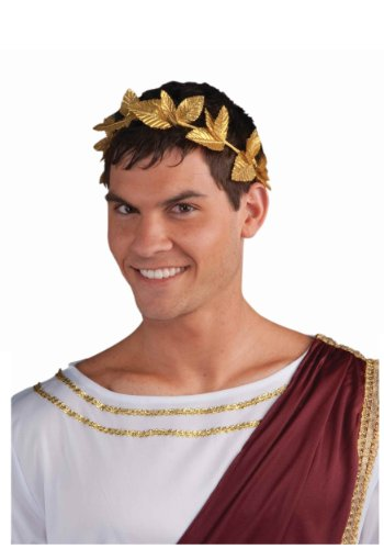 Forum Novelties Inc. Roman Gold Leaf Wreath Headpiece Costume Accessory (Standard) - 1