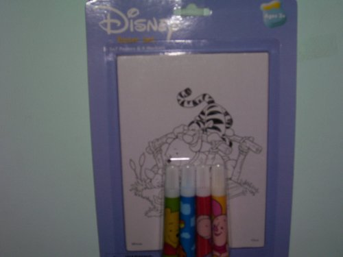 Disney Winnie the Pooh, Tigger,& Piglet 2 Posters and Markers - Buy Disney Winnie the Pooh, Tigger,& Piglet 2 Posters and Markers - Purchase Disney Winnie the Pooh, Tigger,& Piglet 2 Posters and Markers (Disney, Toys & Games,Categories,Arts & Crafts,Pens & Markers)