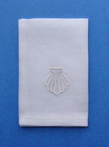 Mds Baptismal Linen Shell Napkin Kitchen Table Linens Pros
