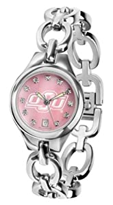 Oklahoma State Cowboys Eclipse Ladies Watch with Mother of Pearl Dial by SunTime