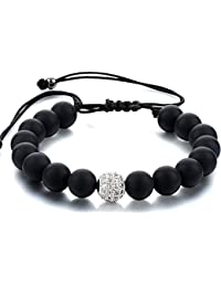 "Hot And Bold ""Certified"" Natural Gem/Semi Precious Stones Chakra Bracelet-Reiki Crystal Jewellery For Men/Women..."