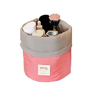 Amazon.com : Bao Core BXT Travel Cylinder Makeup Bag Wash Toiletry Bag