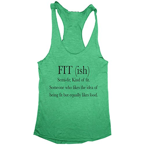Trunk-Candy-Fit-ish-Dictionary-Term-Womens-Tri-Blend-Racerback-Tank