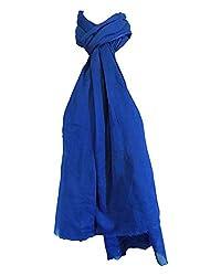 Shiborika Women's Stole (SS-RB-05, Royal Blue)