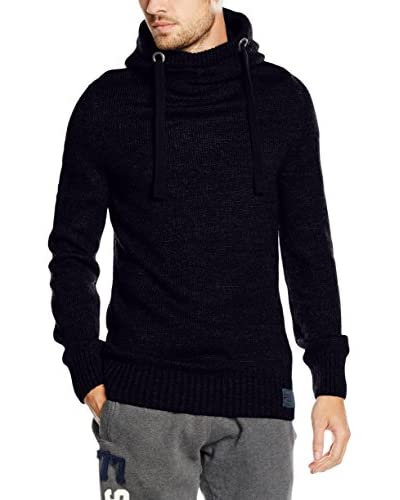 Superdry Pullover Super Sd Knit Hood nachtblau