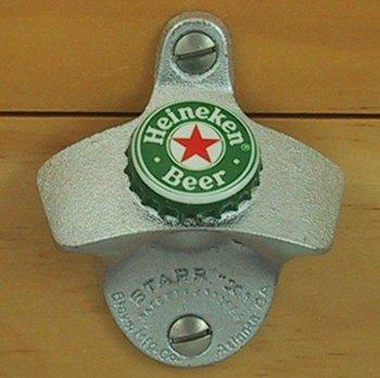 Heineken Beer Bottle Cap Starr X Wall Mount Opener