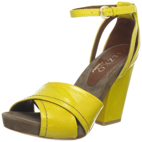 Miezko Aurora Sandals Womens Yellow Gelb (YELLOW) Size: 7 (41 EU)