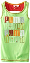 PUMA Girls 7-16 Tank With Contrast