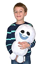 Disney Frozen Fever Large Snowgie Pillowtime Pal Cuddle Pillow/Toy, 16-Inch. Limited Edition . (16 Tall)