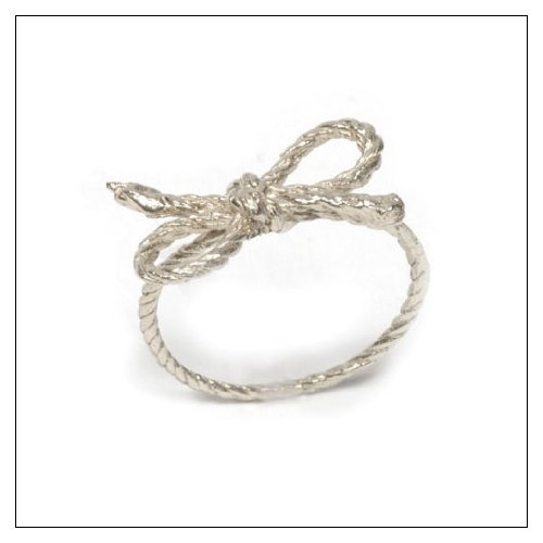 Forget Me Knot Ring Material: Sterling Silver, Size: 7