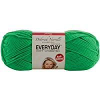 Premier Yarn Deborah Norville Collection 3-Pack Everyday Solid Yarn, Electric Green