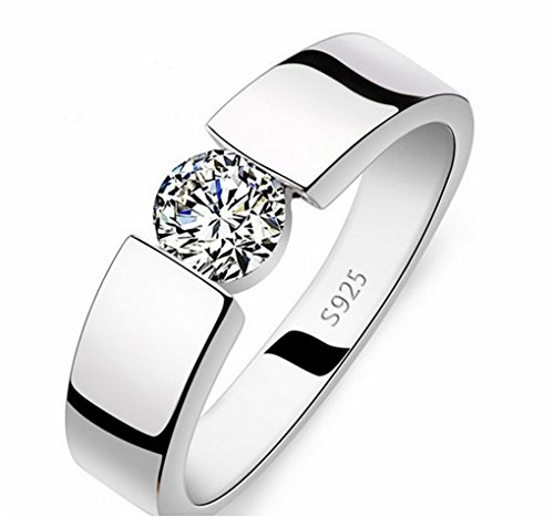 18CT PLATINUM AND RODIUM PLATED REAL LOVE RING FOR VALENTINE DAY SPECIAL OFFER