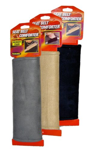 Seat Belt Comforter - Tan (Seat Belt Comforter compare prices)