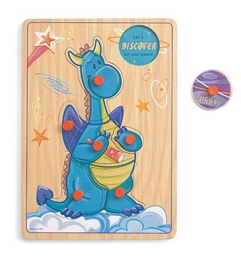 "Cheap Fun Gund Scales 'N Tails ""Jiggy"" Pegged Puzzle (B0018Z0KLA)"